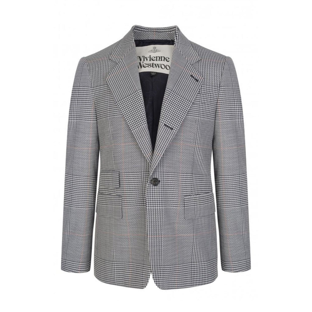 Vivienne Westwood White Classic Jacket Prince of Wales