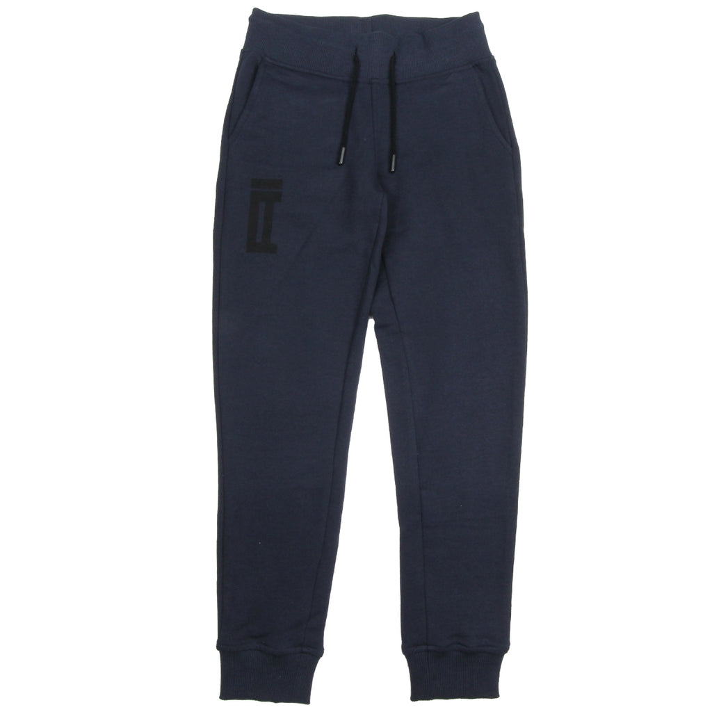 AI Riders on the Storm Navy Logo Jogging Bottoms