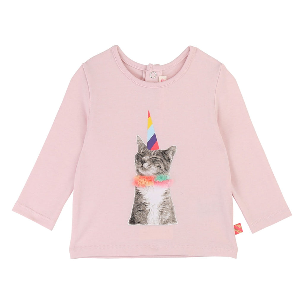 Billieblush Pink Cat Top