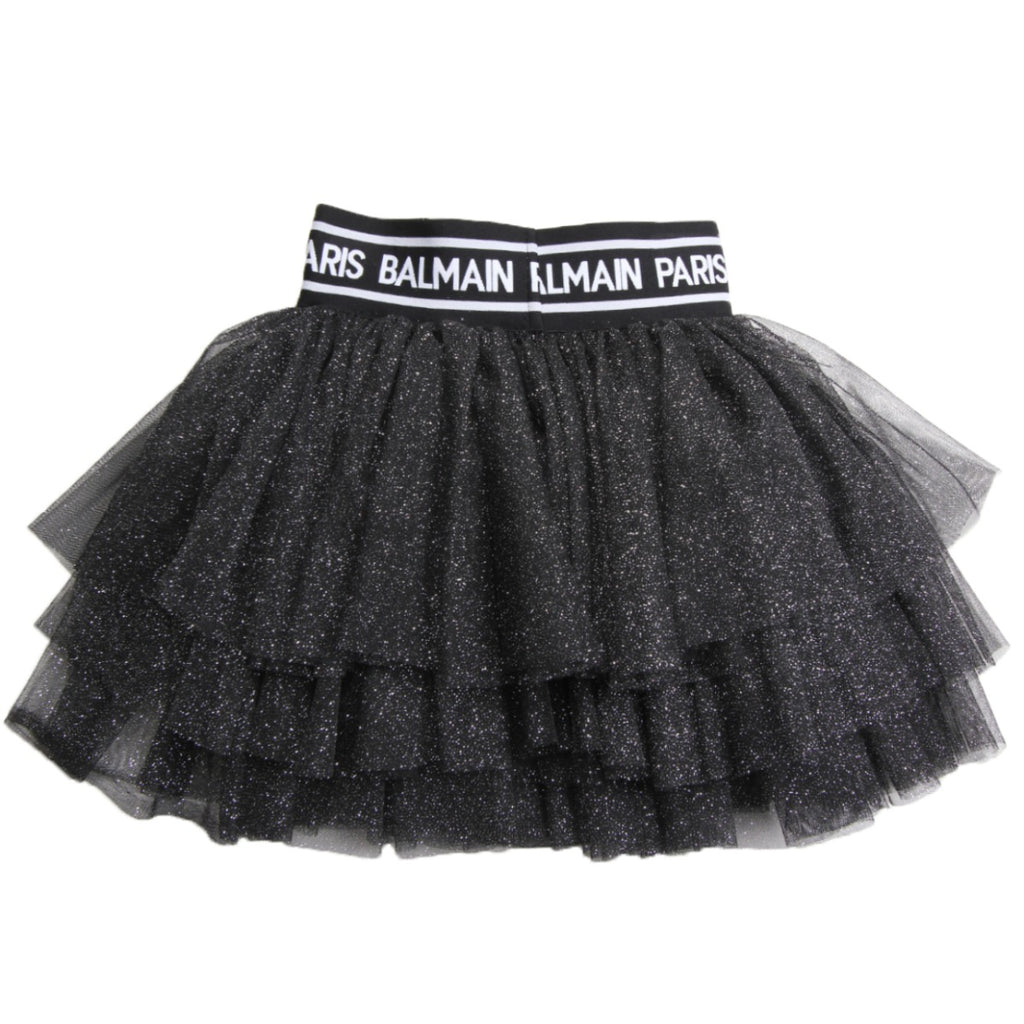 Balmain Paris Black Skirt