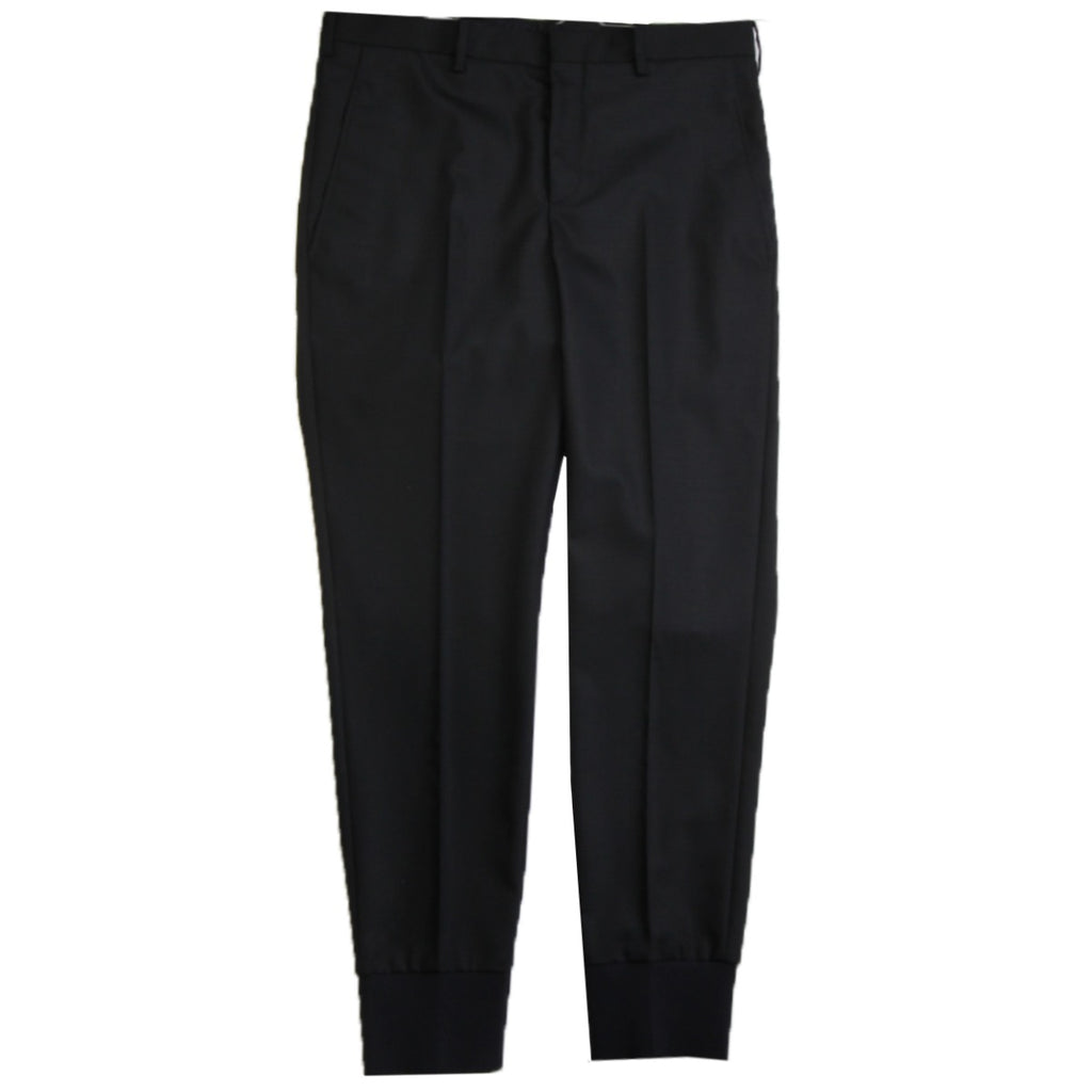 Neil Barrett Black Formal Cuffed Trouser