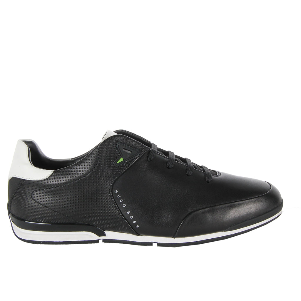 Boss Green Black Saturn Low Top Trainers
