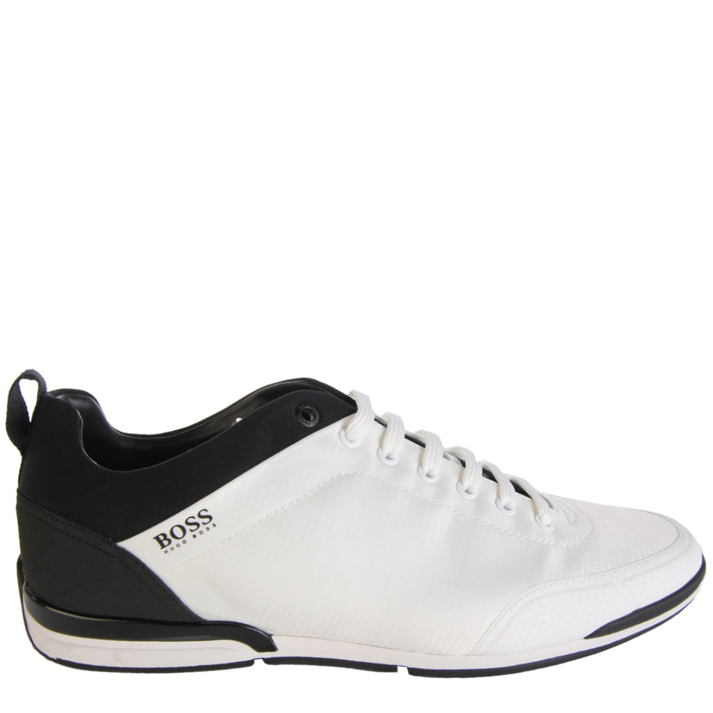 Boss Saturn Low Top White Trainers