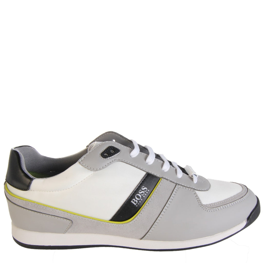 Boss Maze Low Top Grey Trainers