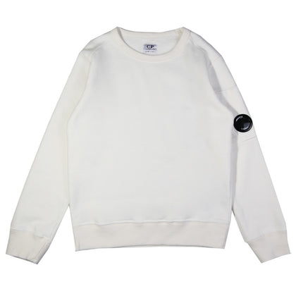 CP Company Boys White Sweatshirt front