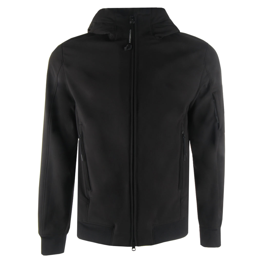 C.P. Company Black Lens Softshell Jacket