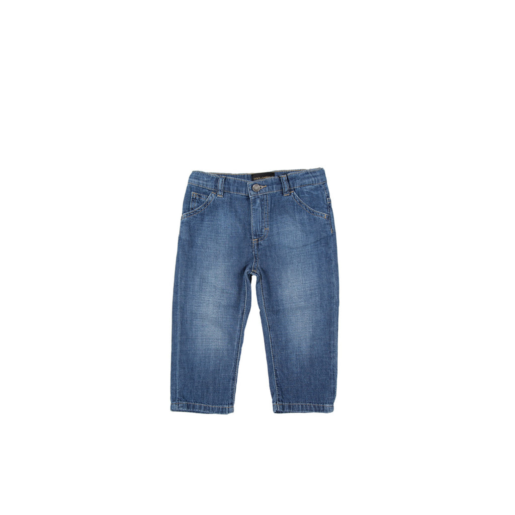 Dolce & Gabbana Kids Regular Fit Jeans