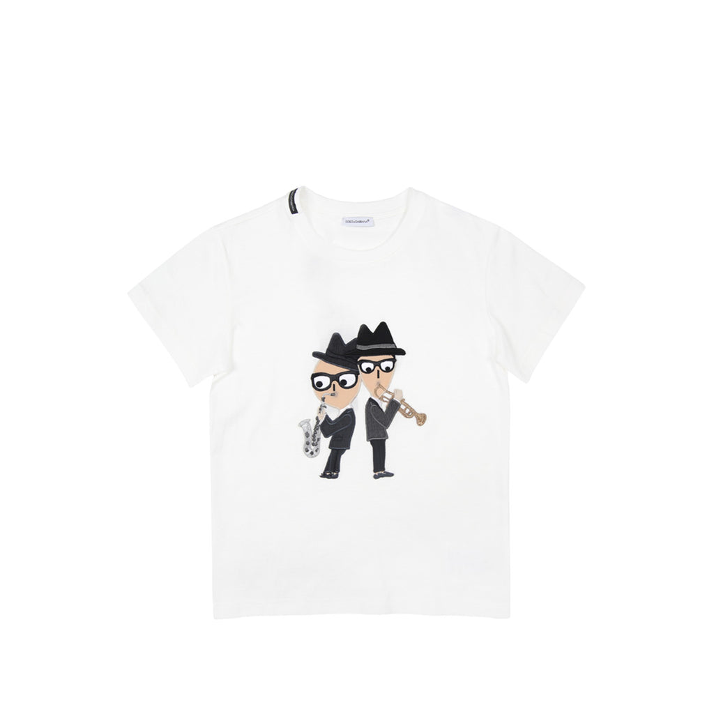 Dolce & Gabbana Jazz White T-Shirt