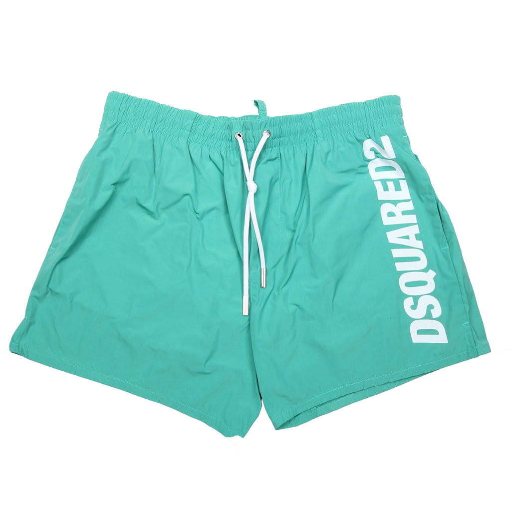 DSquared2 Green Logo Shorts