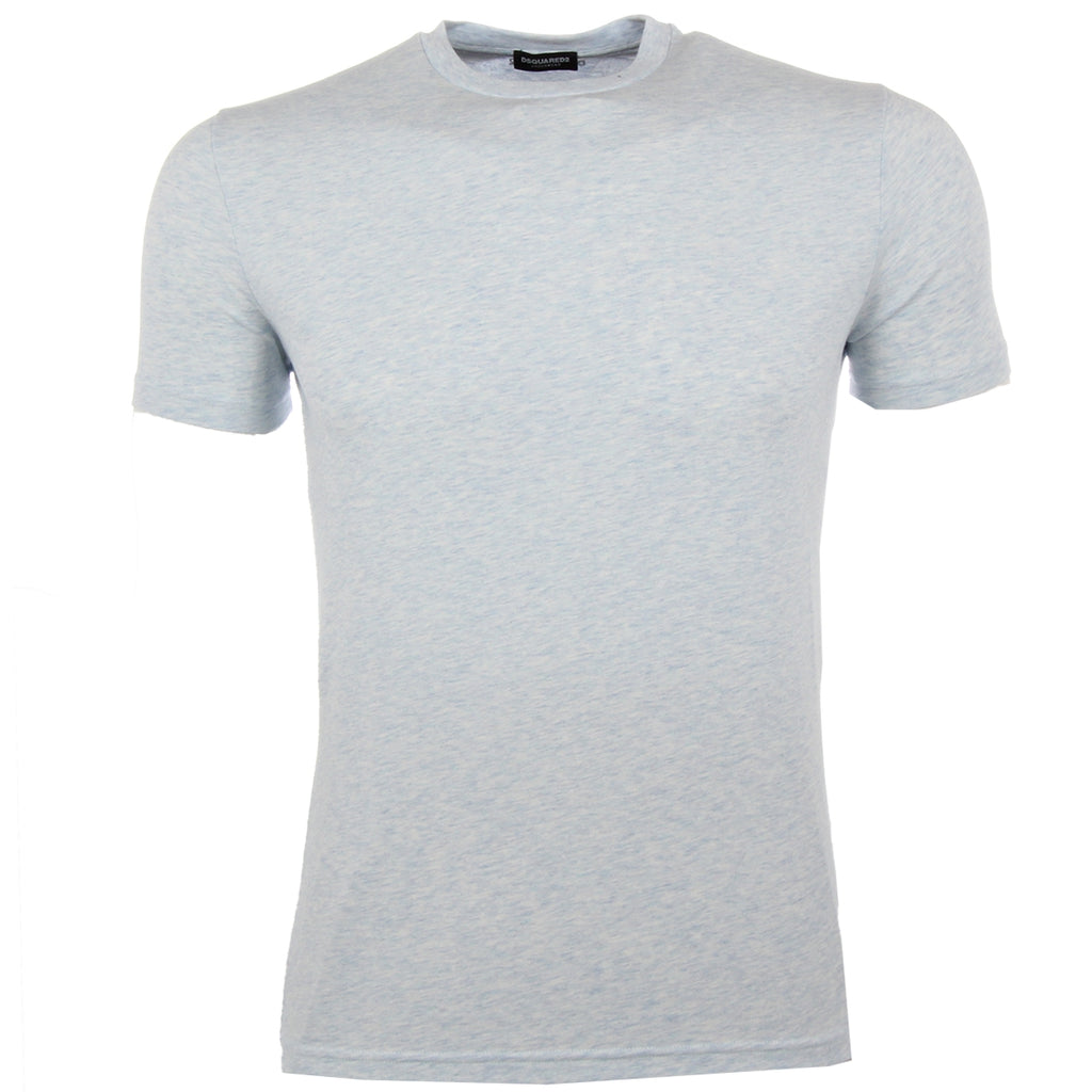 DSquared2 Sky Blue Nape Logo T-Shirt