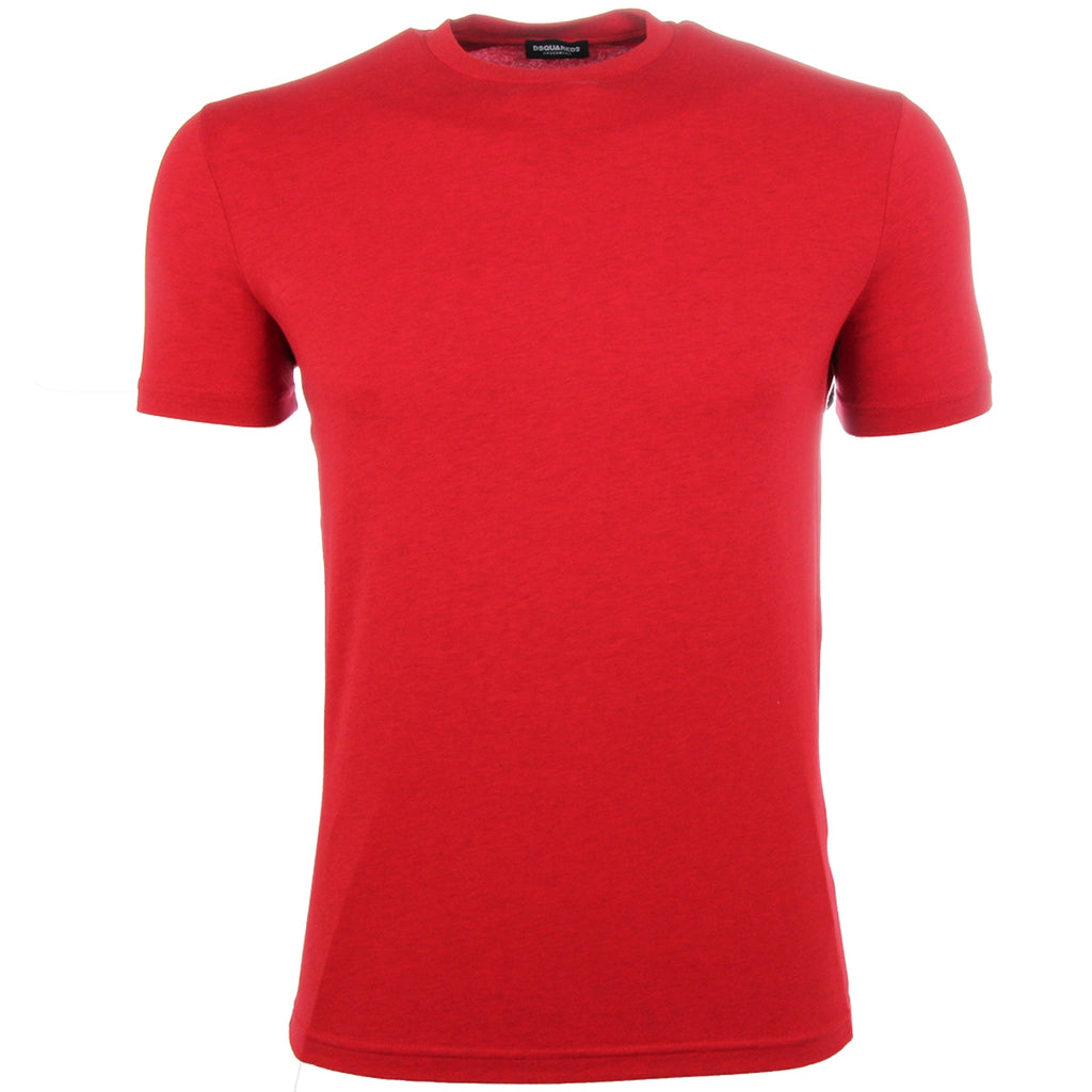 DSquared2 Red Sleeve Logo T-Shirt