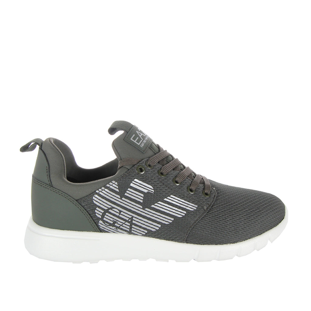 EA7 Simple Racer Green Trainers