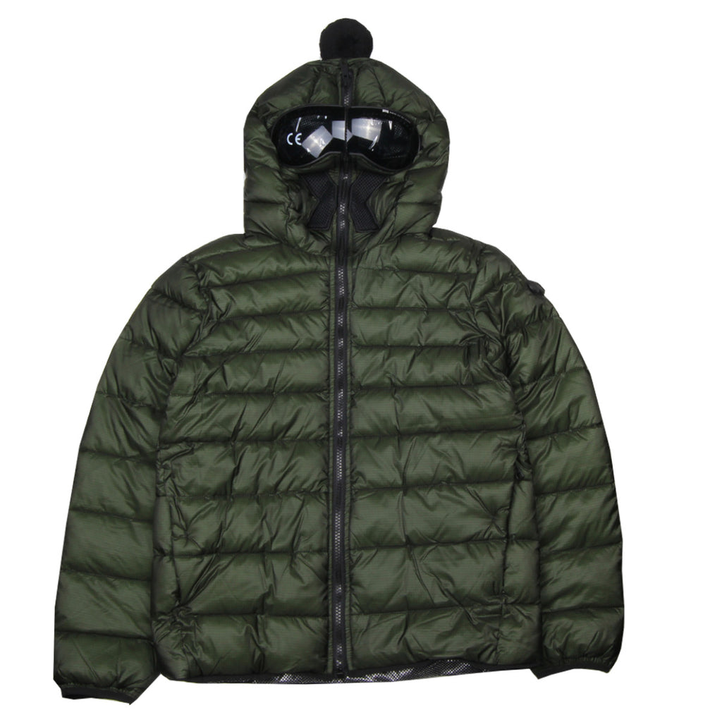 Al Riders On The Storm Kids Green Nylon Down Jacket