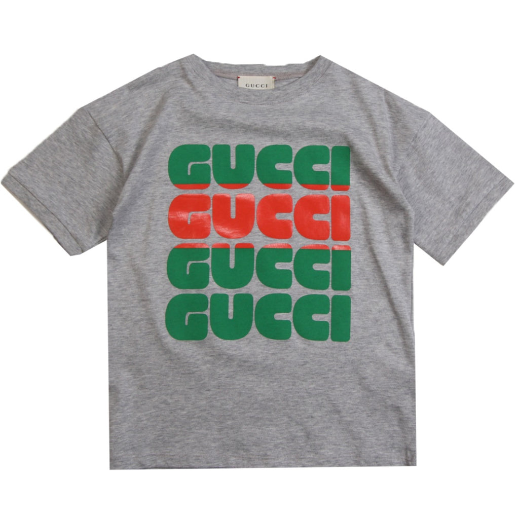 Gucci Kids T-shirt With Gucci Print