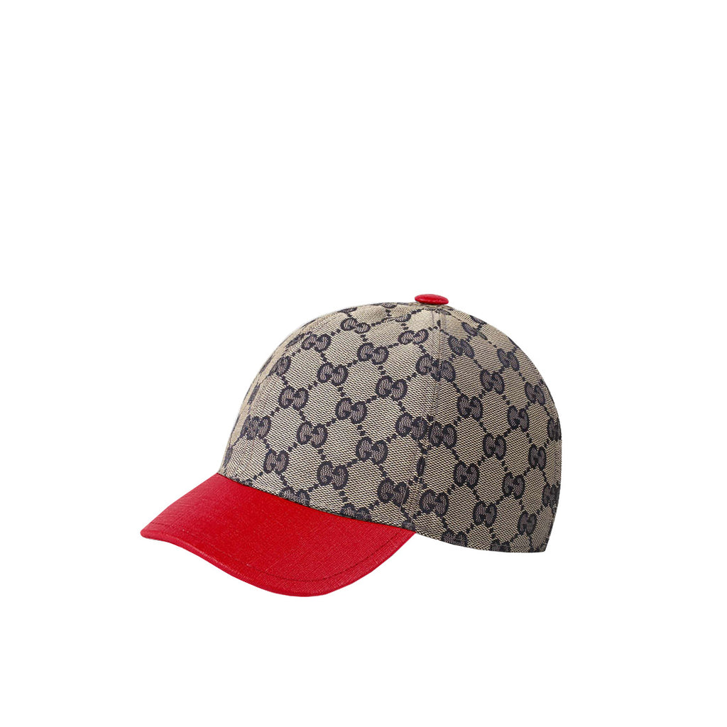 Gucci Kids GG Red Baseball Cap