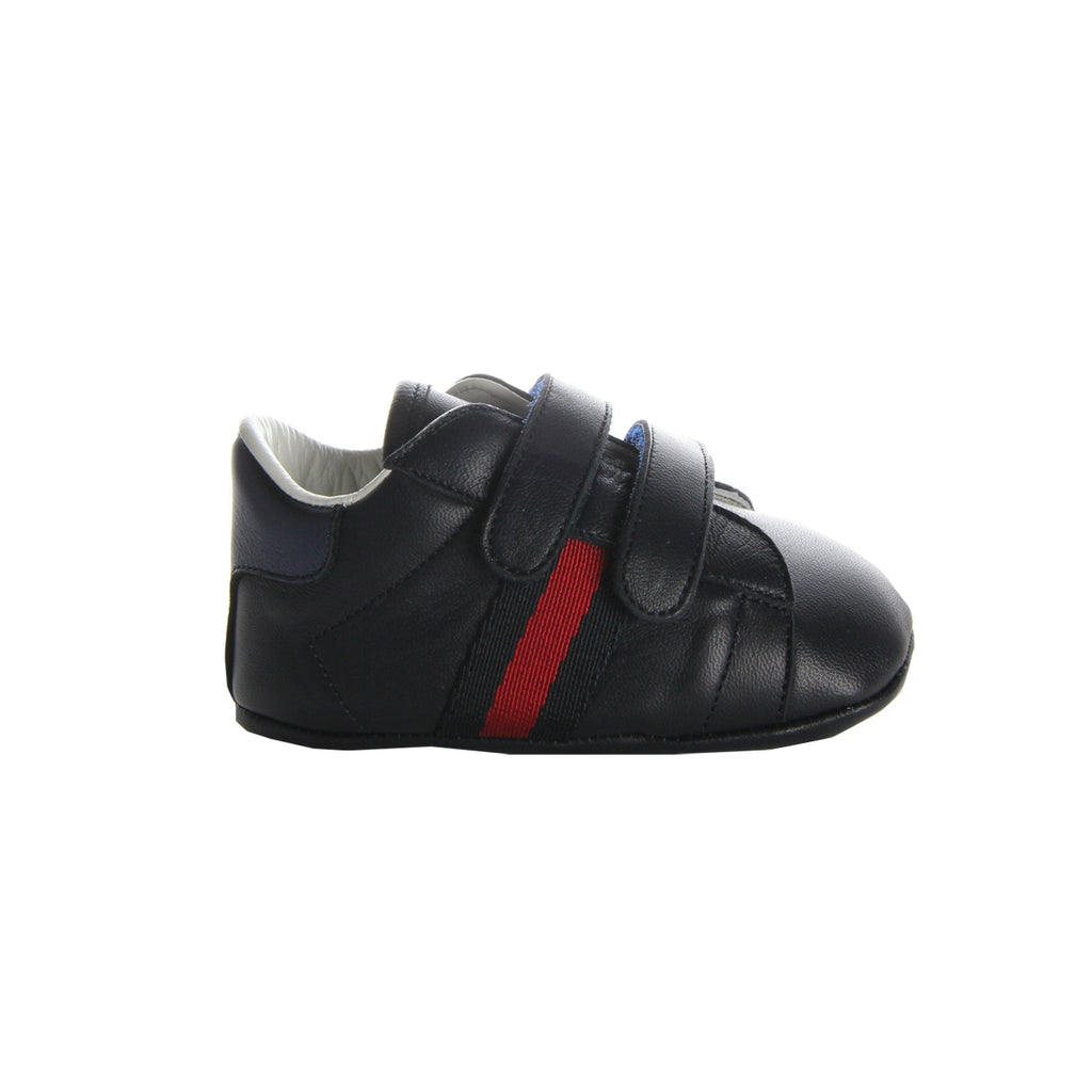 Gucci Baby Blue Web Trainers