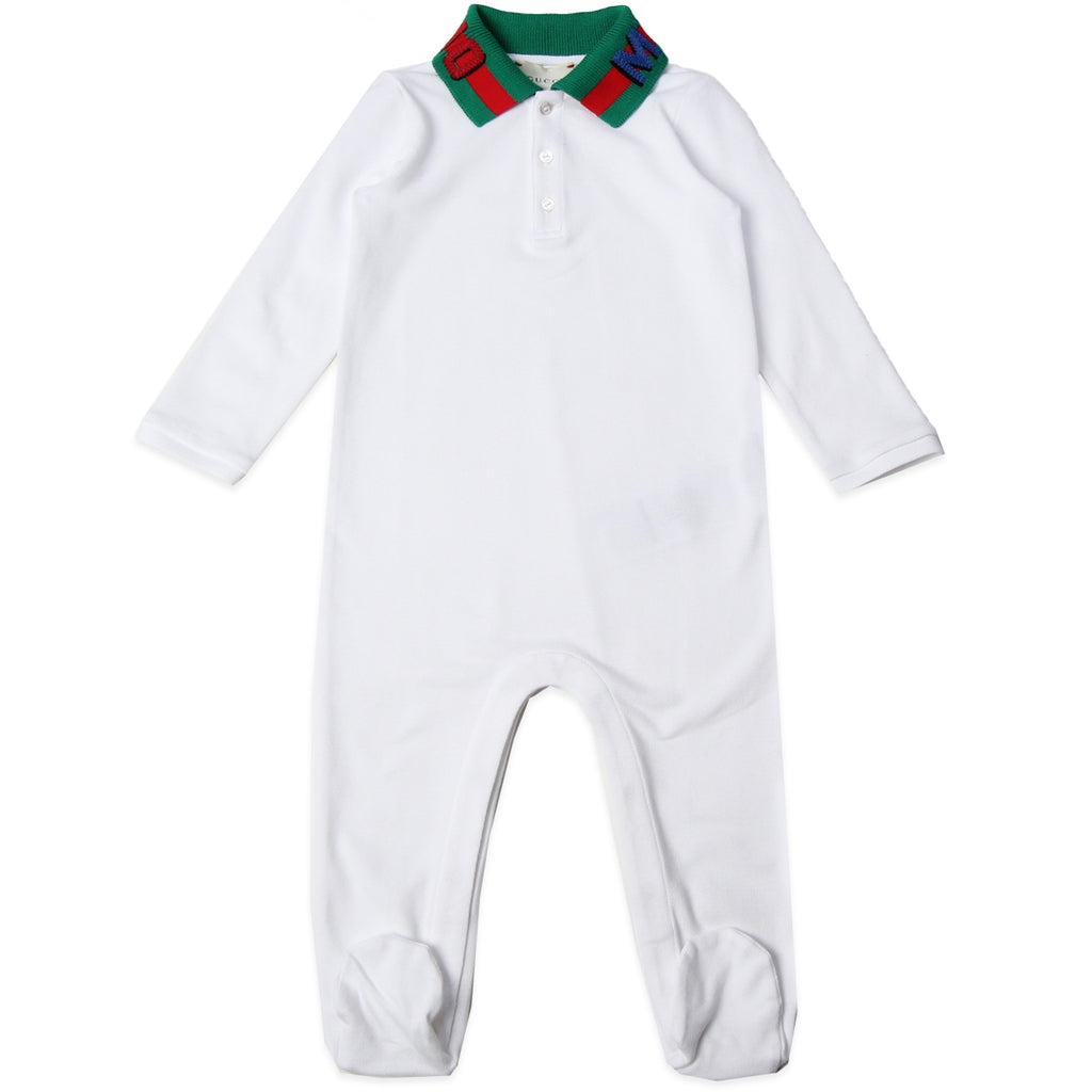 Gucci Magnetismo White Babygrow