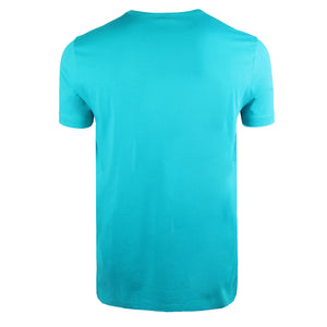 Hugo Boss Curved Logo Cotton Jersey T-shirt