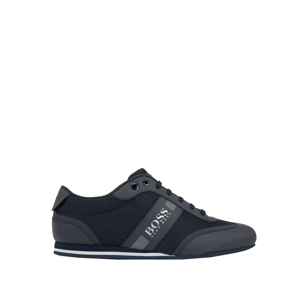 Hugo Boss Lace-up Mesh Detail Trainers