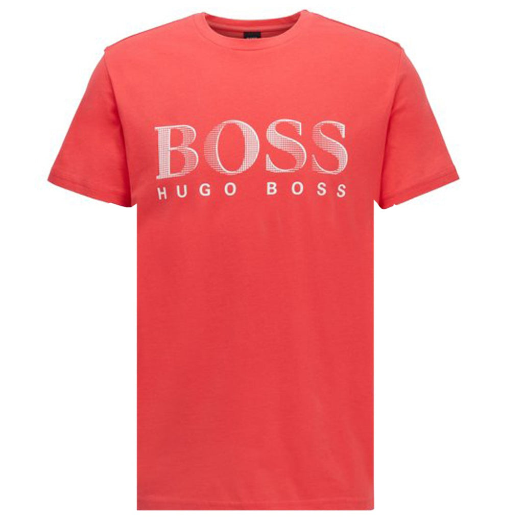 Hugo Boss Red UPF 50+ Relaxed Fit T-shirt