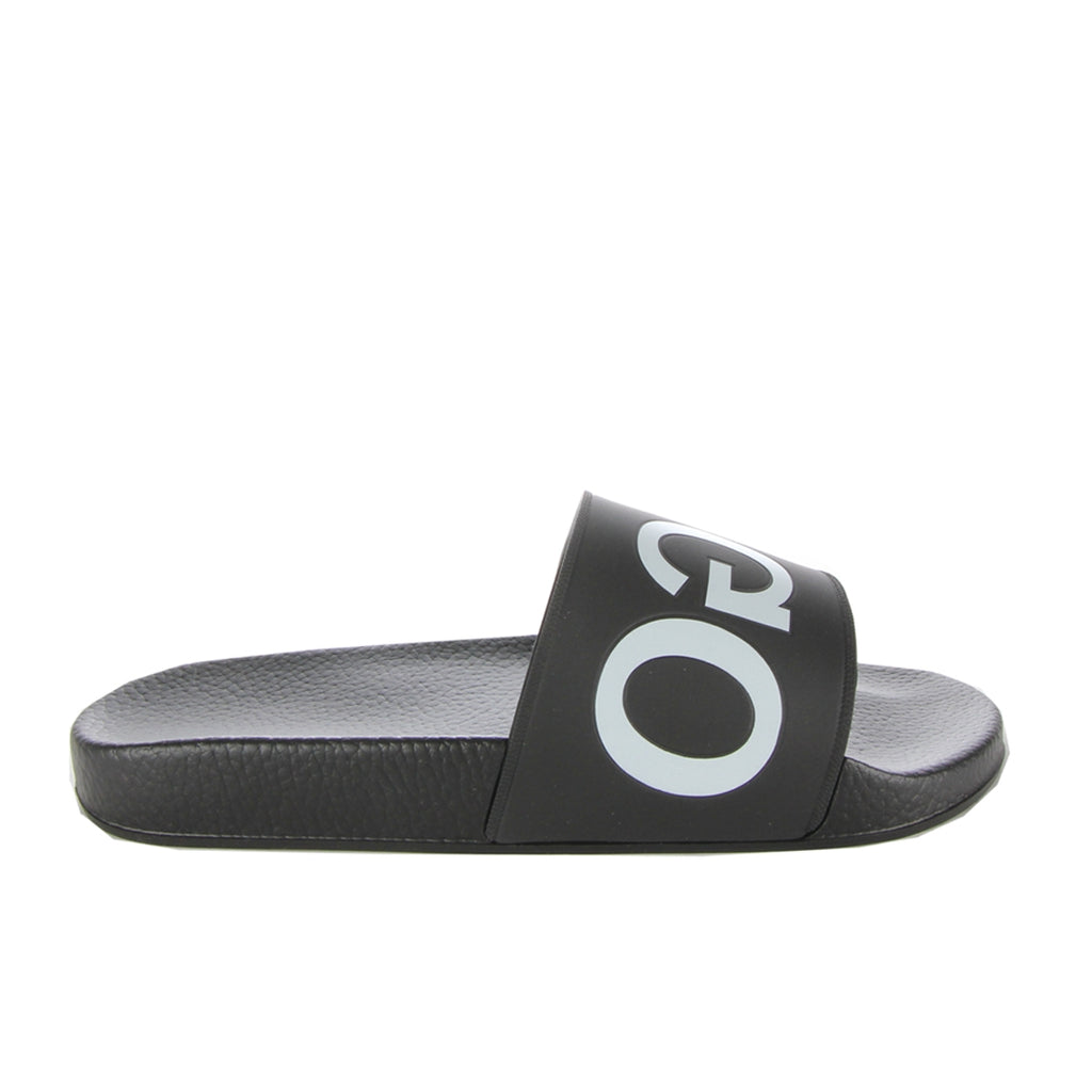 Hugo Boss Strap Logo Timeout Black Slides