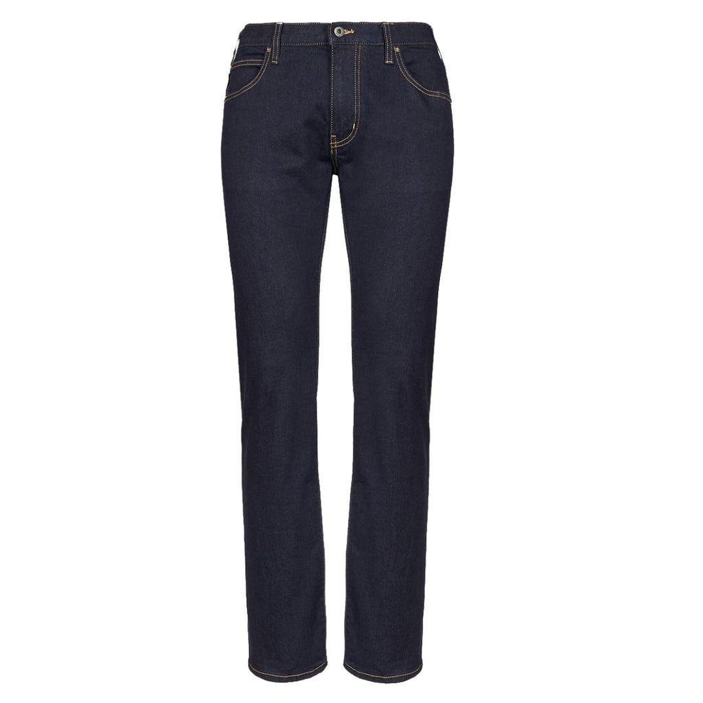 Emporio Armani Blue J45 Regular Fit Jeans