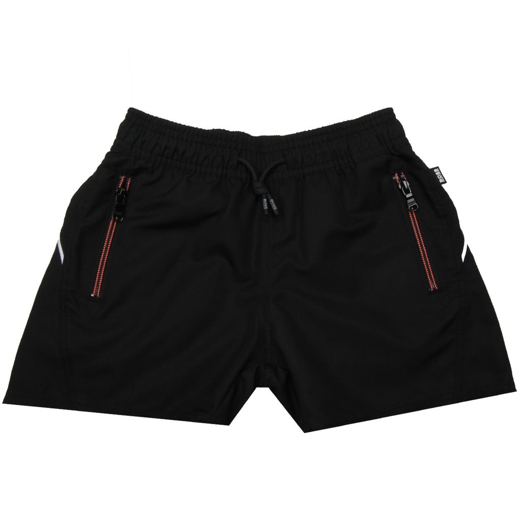 Hugo Boss Kids Black Shorts