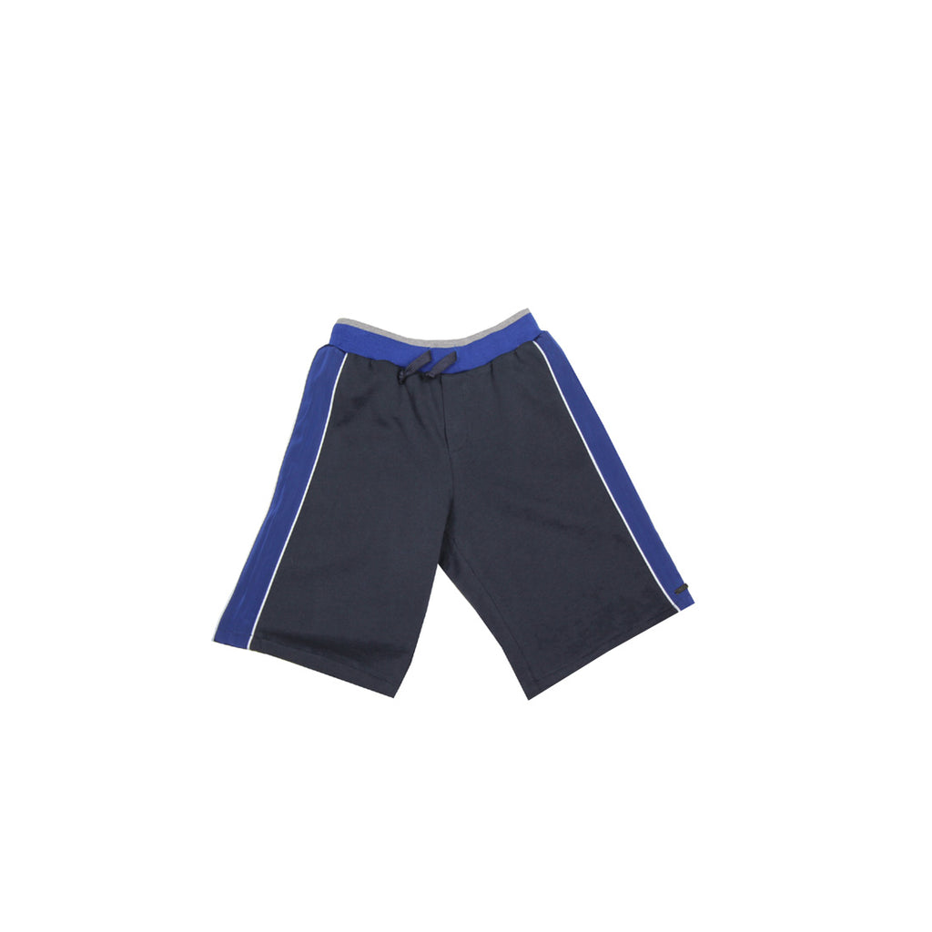 Lanvin Kids Blue Bermuda Shorts