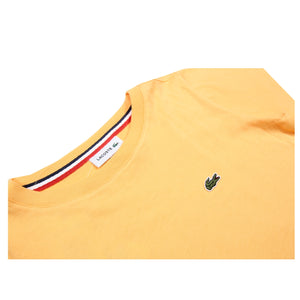 Lacoste Kids Signature Logo Orange T-Shirt