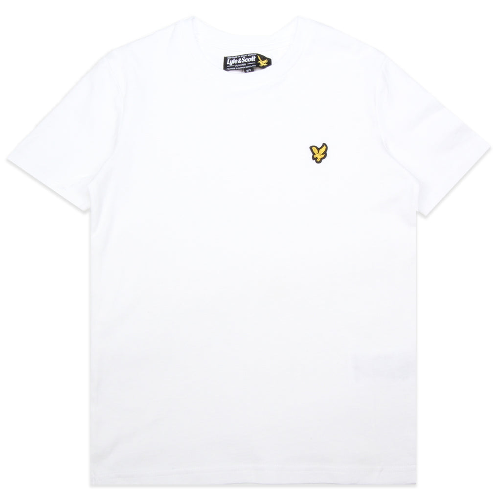 Lyle & Scott Junior White T-Shirt