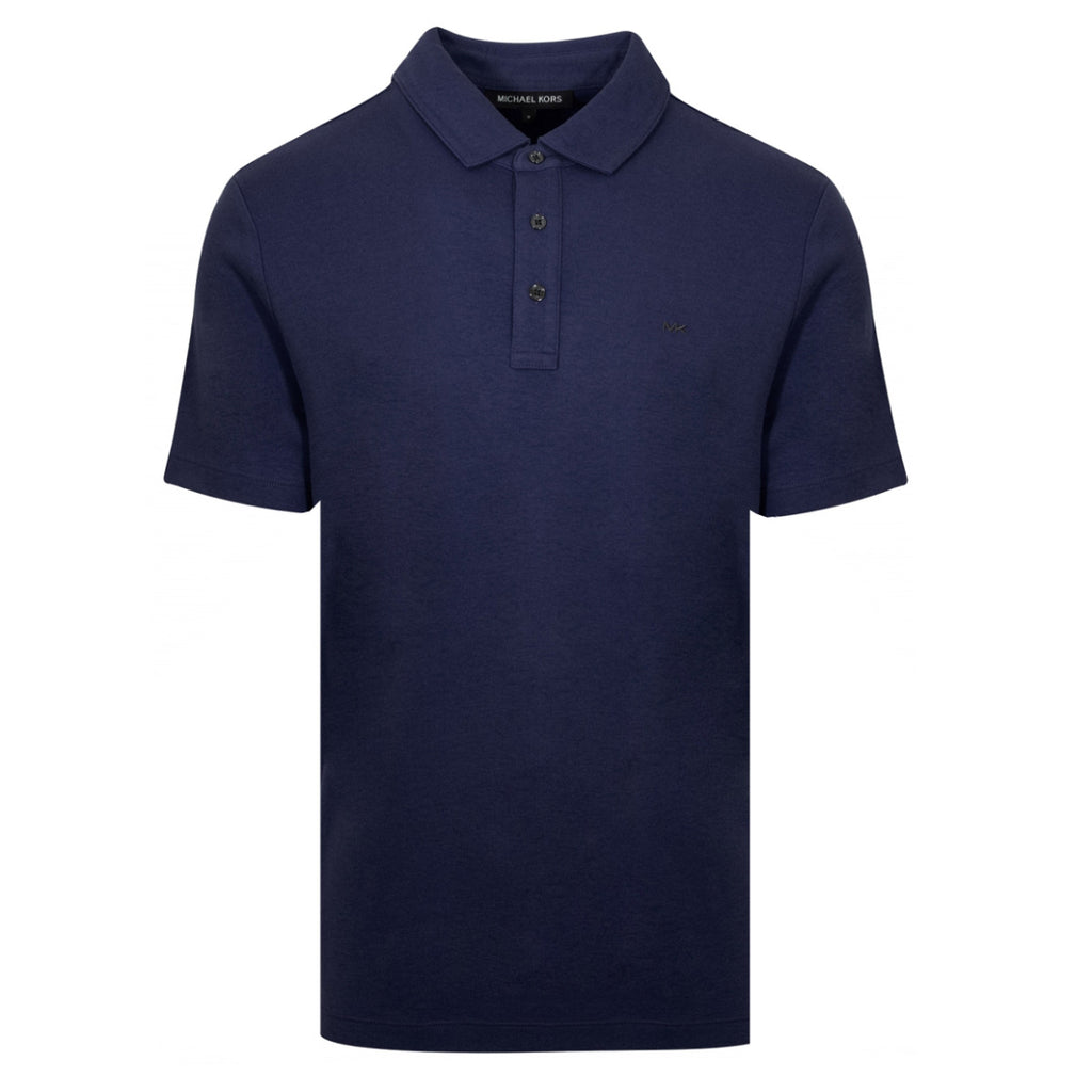 Michael Kors Solid Navy Polo Shirt