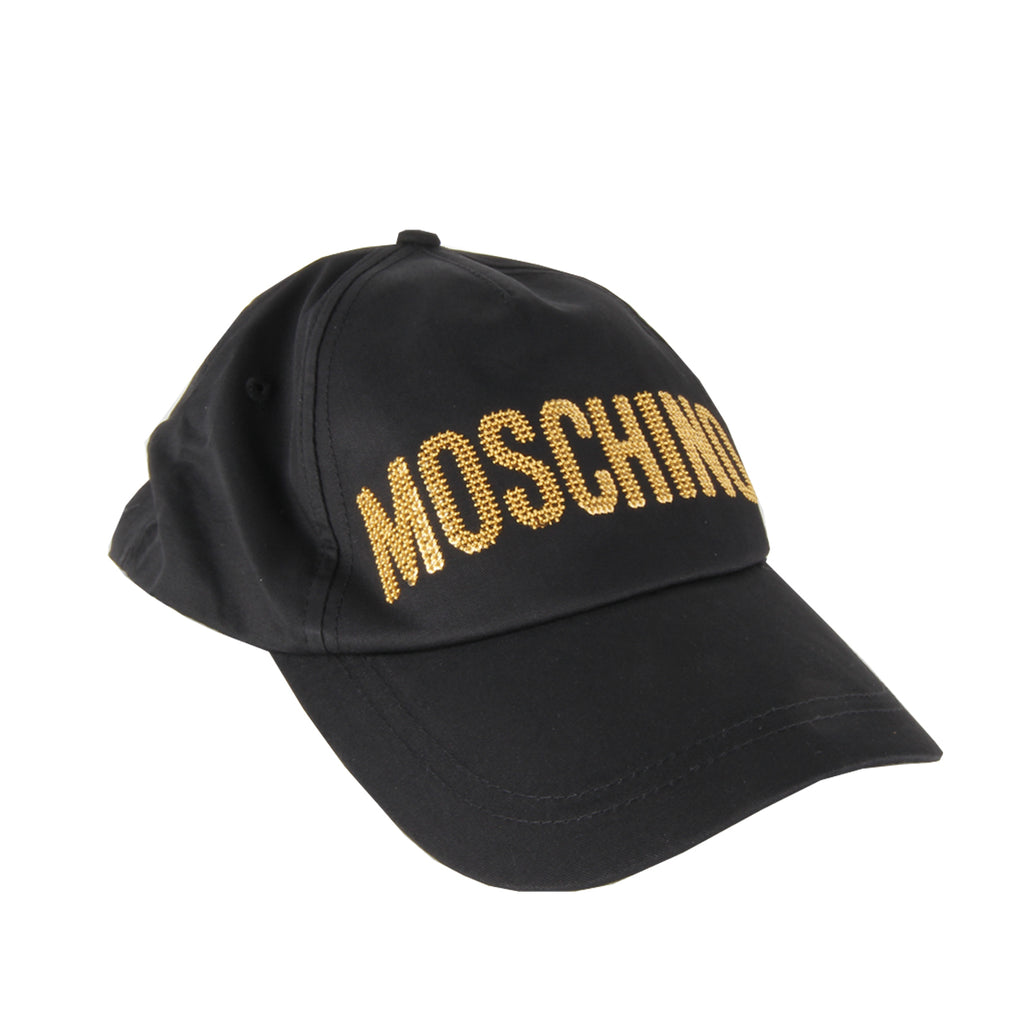 Moschino Kids Cotton Logo Cap