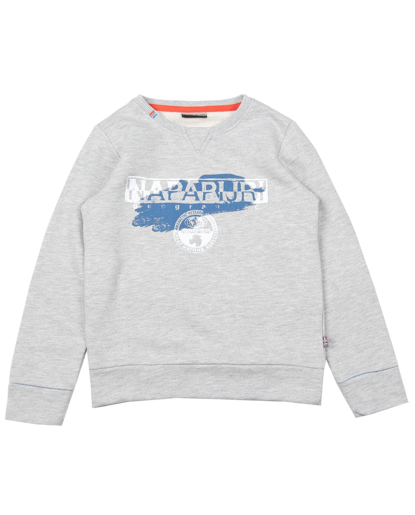Napapijri Junior Grey Bogly Sweatshirt