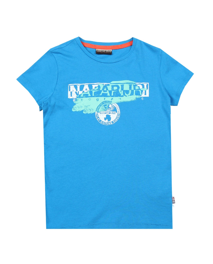 Napapijri Junior Turquoise Shadow T-Shirt