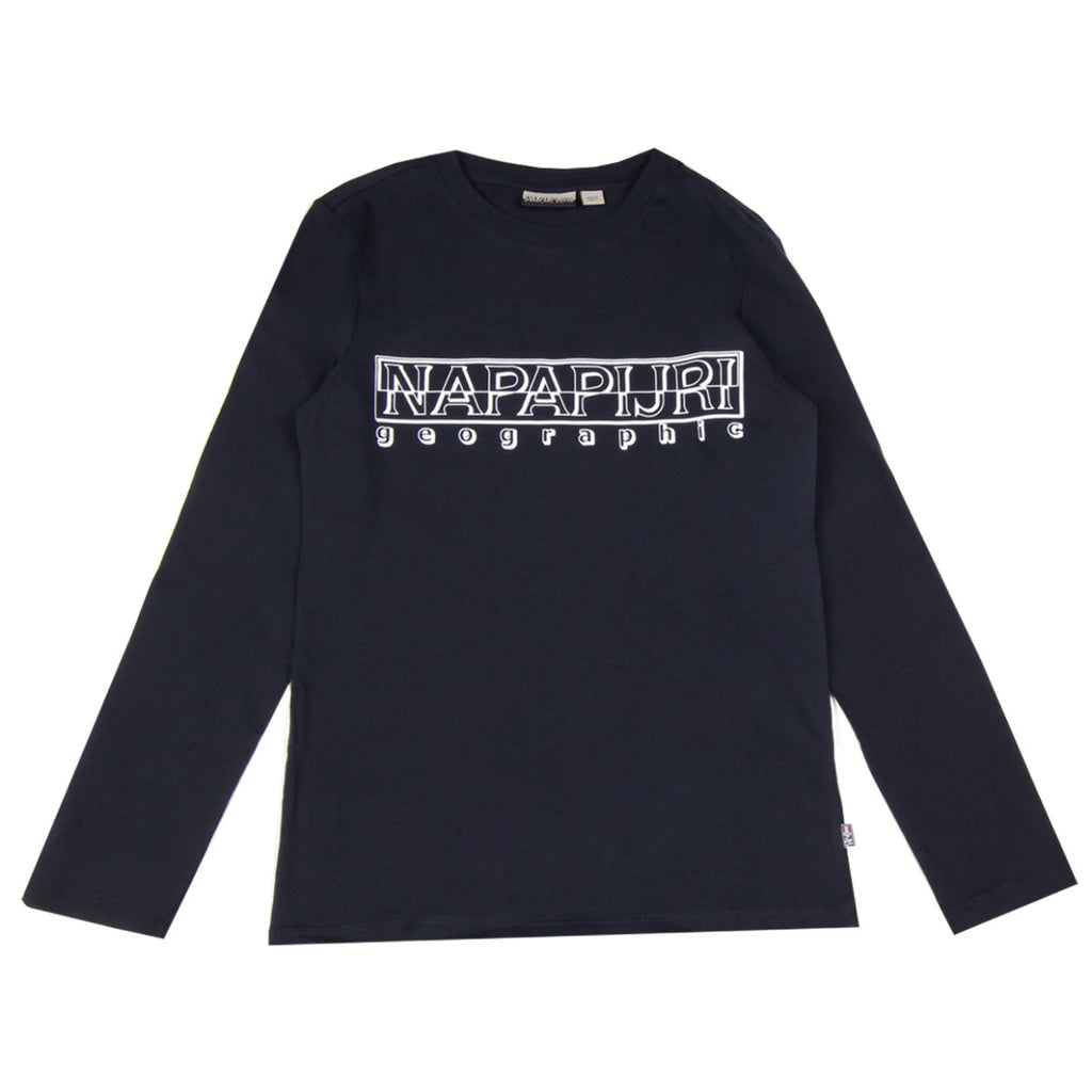 Napapijri Junior Navy Soli Long sleeve T-shirt