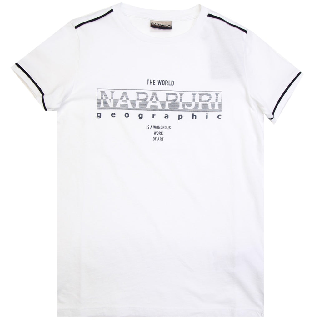 Napapijri Junior Sebyl White T-shirt