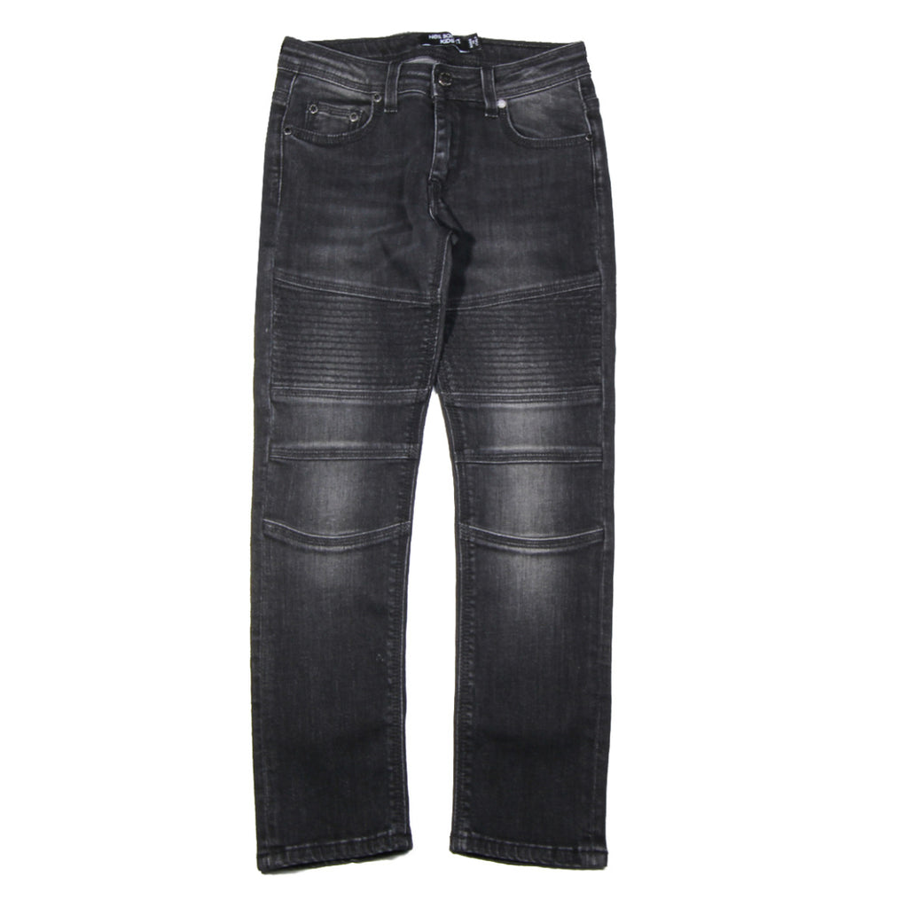 Neil Barrett Kids Denim Logo Jeans