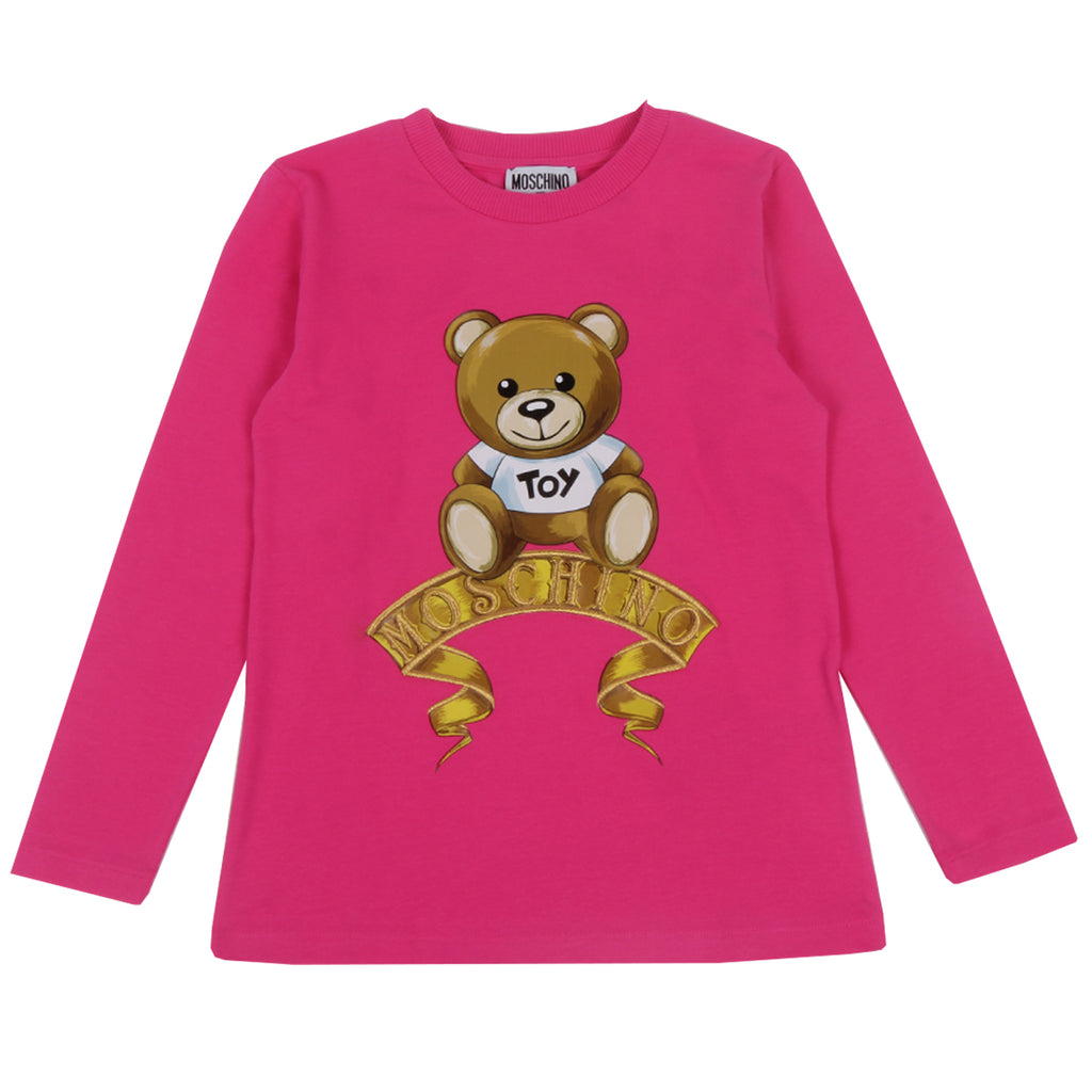 Moschino Kids Teddy Bear T-shirt & Leggings Set