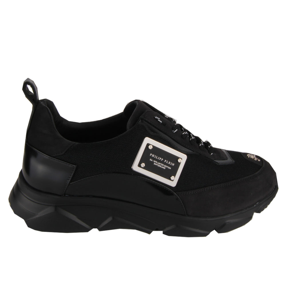 Philipp Plein Black Runner Original Trainers