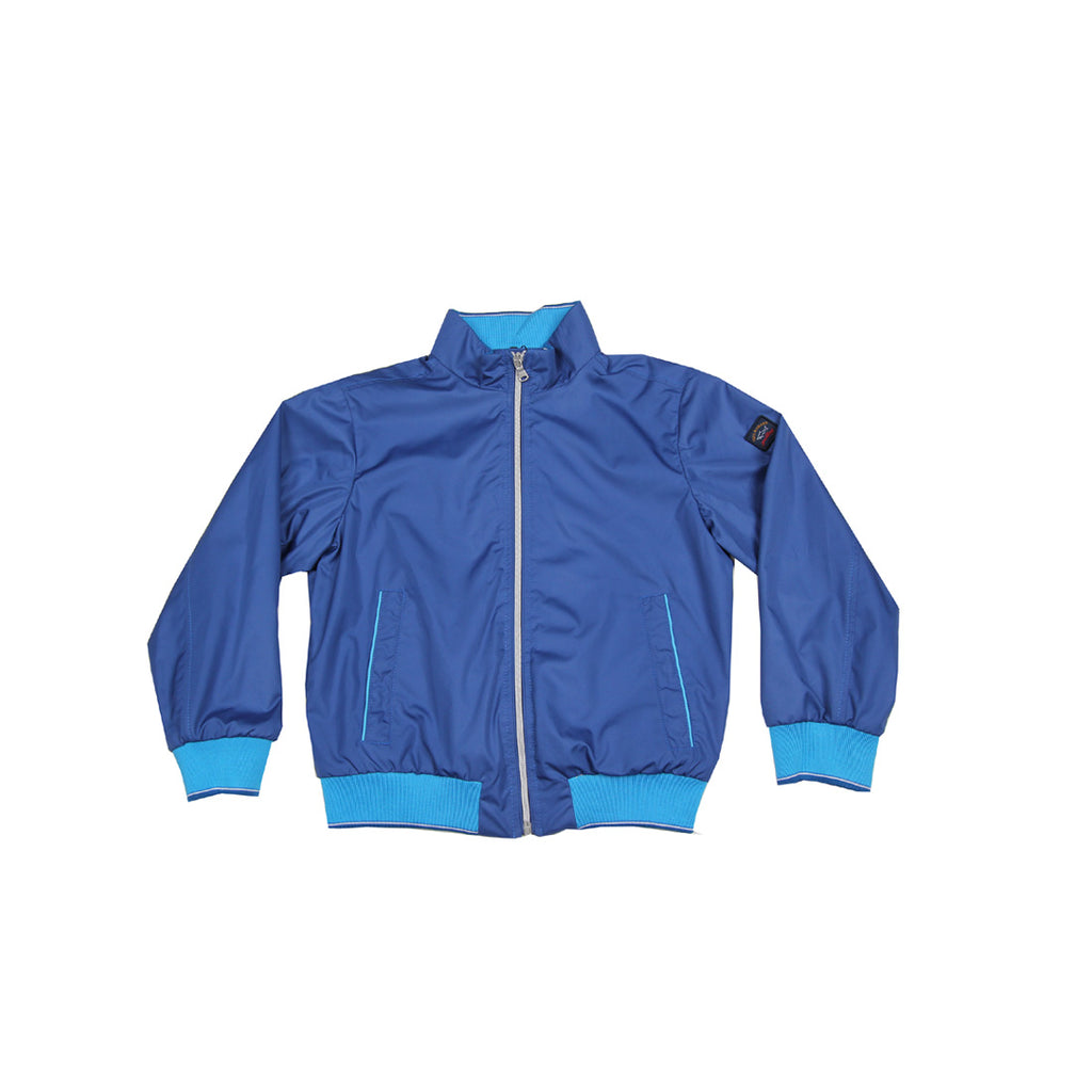 Paul & Shark Kids Blue Zip Up Jacket