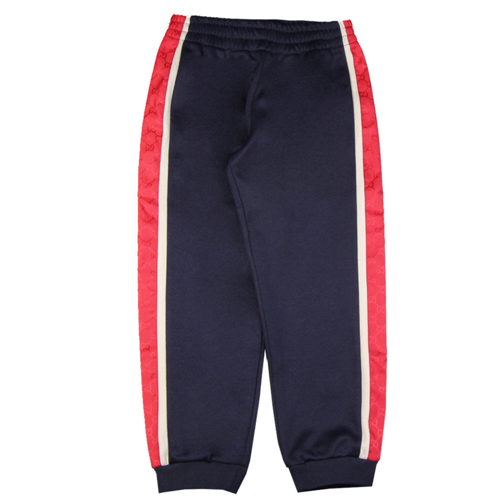 Gucci Kids Blue GG Print Trousers