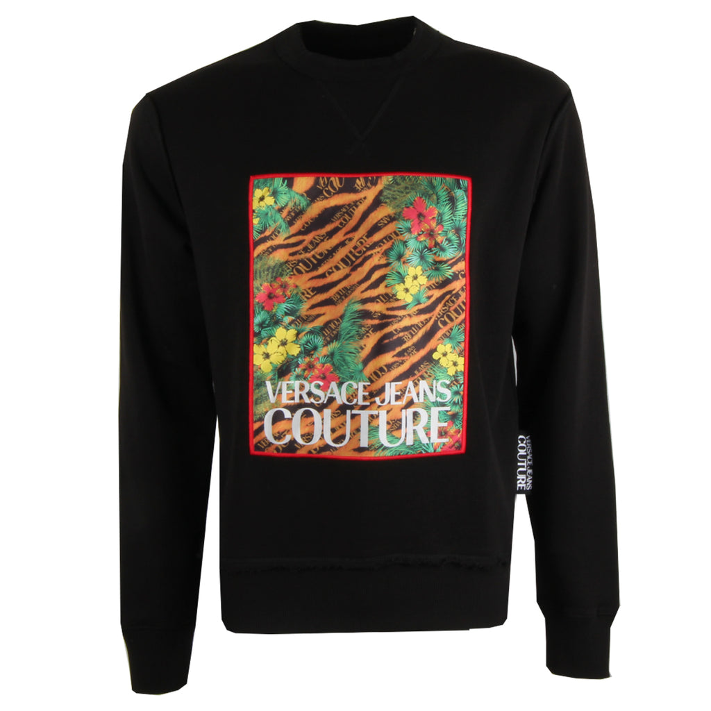 Versace Jeans Couture Tropical Tiger Print Sweatshirt