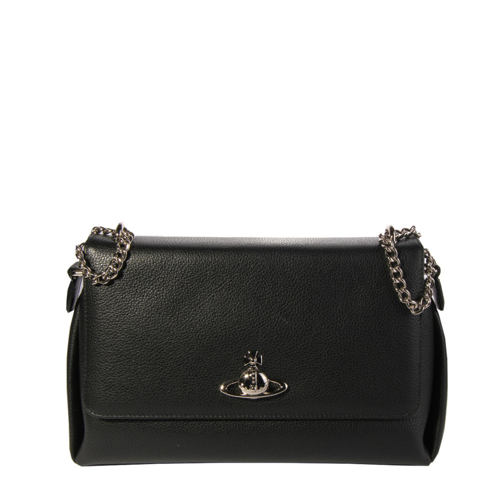 Vivienne Westwood Windsor Black Cross Body Bag