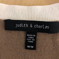 Judith & Charles Colour Block Sweater - Size Medium
