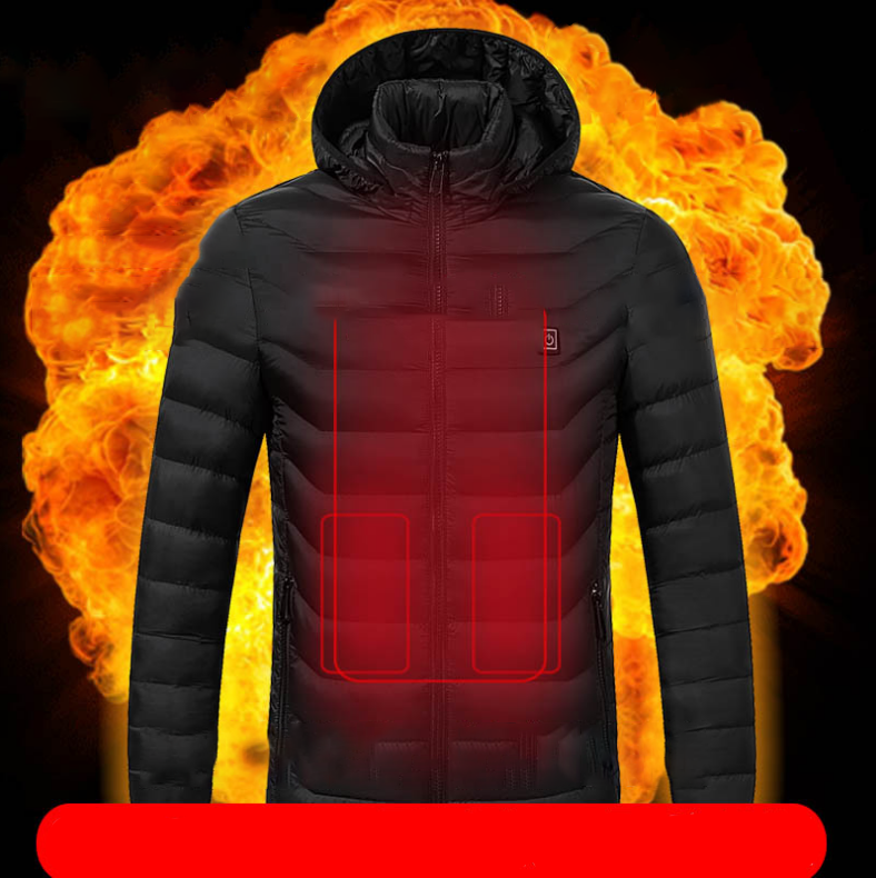 (Last day promotion-50% OFF)Unisex Warming Heated Coat With Sleeves-Free Shipping Now