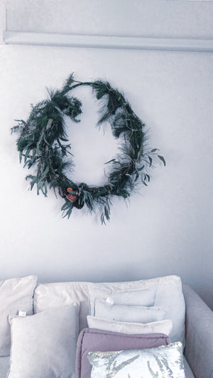 Eco giant Xmas wreath