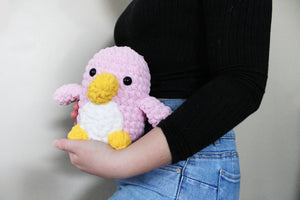 Arctic the Penguin Pink