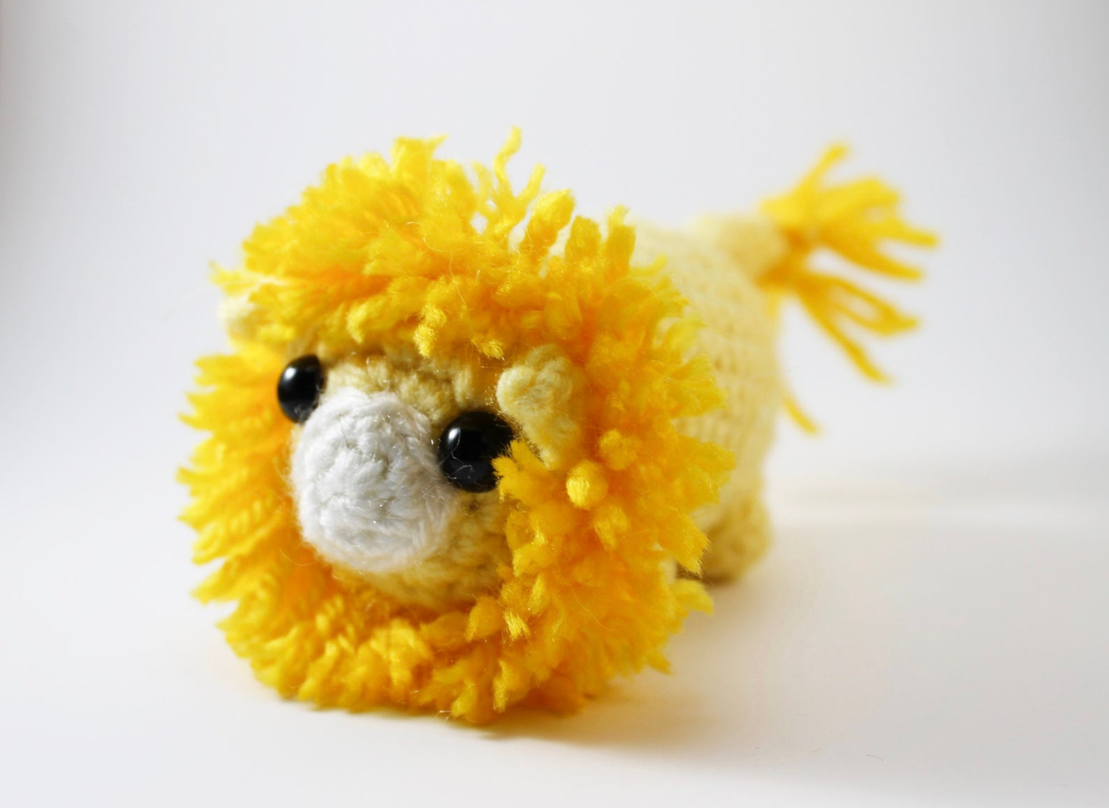 Amigurumi Lion Plush Small