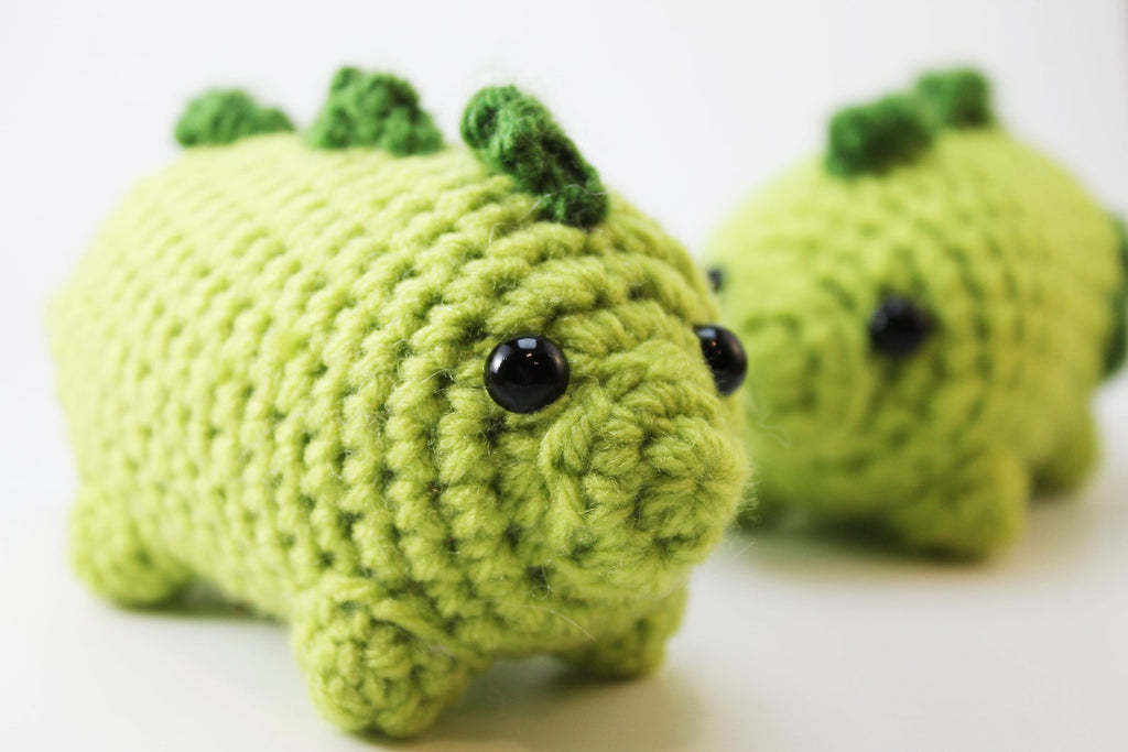 Amigurumi Dinosaur Plush Small