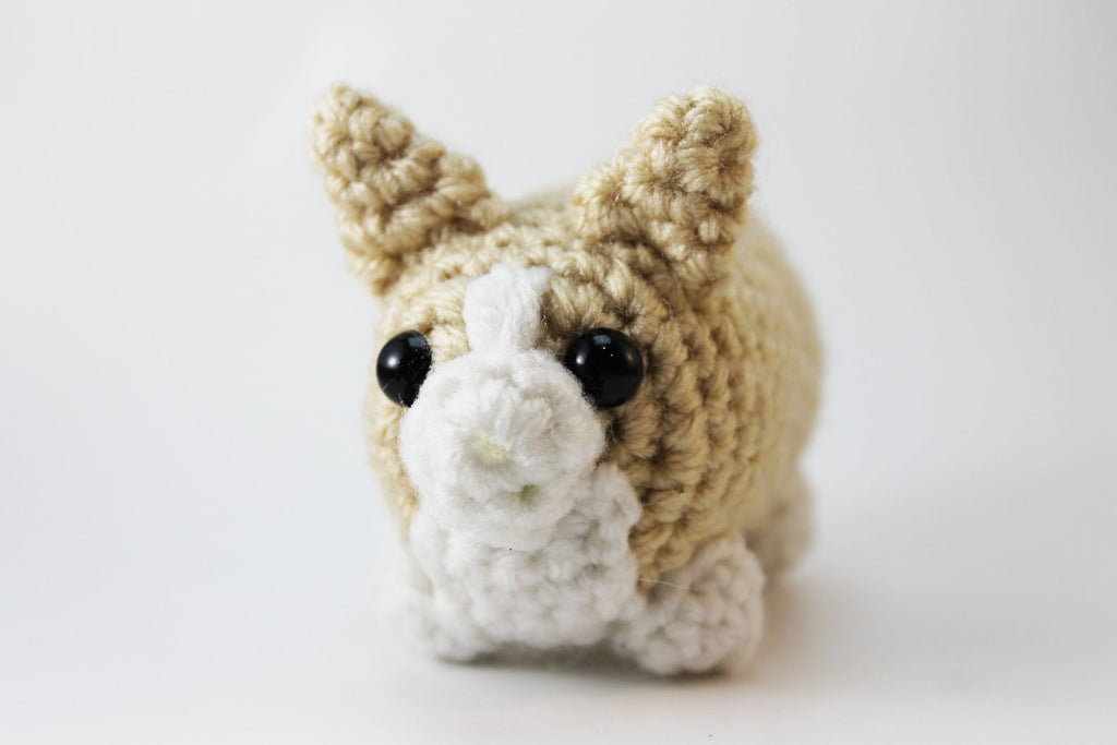 Amigurumi Corgi Plush Small